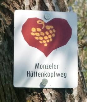 Monzeler Hüttenkopfweg